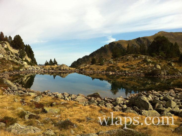 lacs sur la randonnée