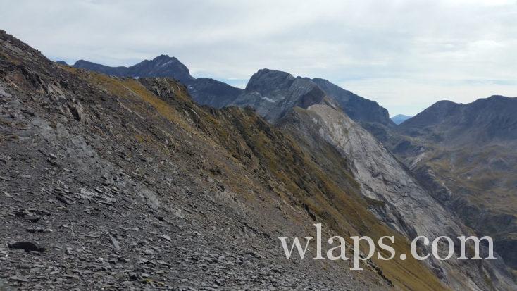 descente du Pic de Bouneu