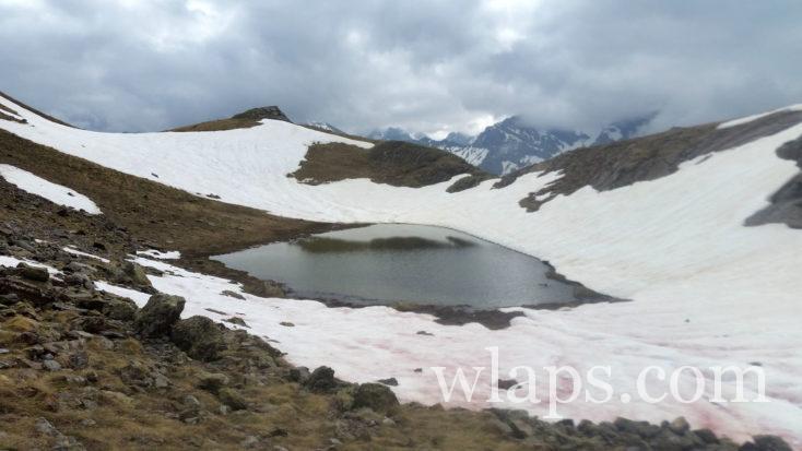 lac près du pic de Lary