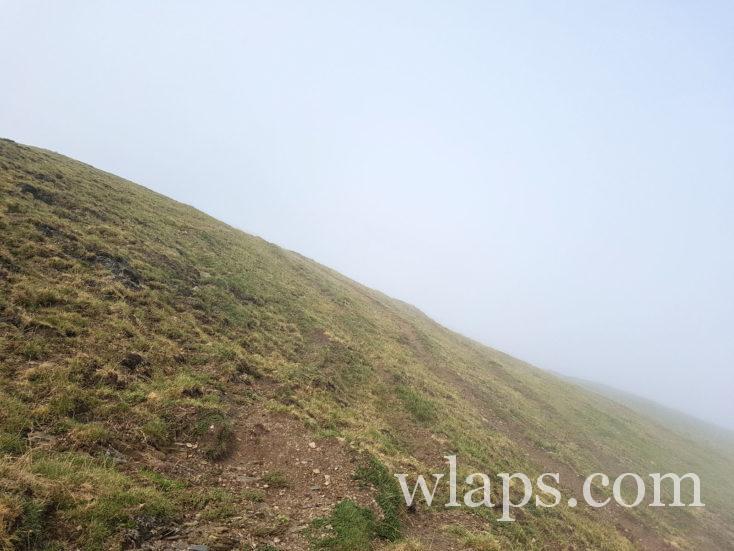 brouillard au Pic de Viscos