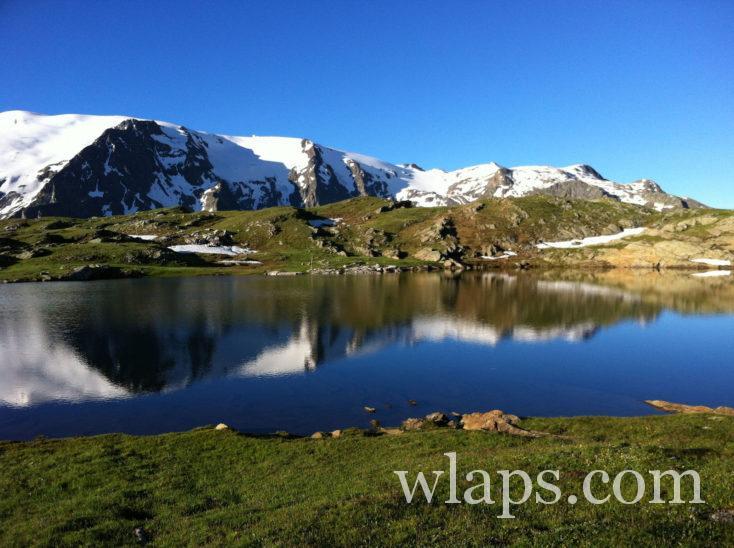 Le Lac Lérié sur le Plateau d'Emparis