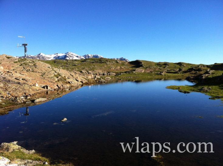 Le Lac Noir sur le Plateau d'Emparis