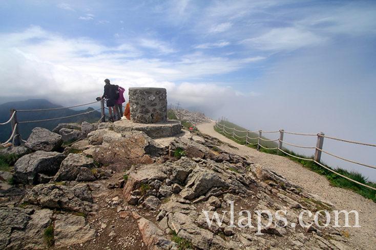 Table d'orientation au sommet du Puy Mary