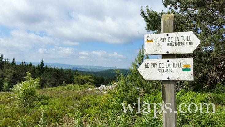 Randonnée au Puy de la Tuile