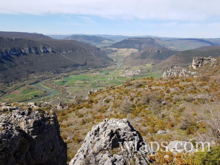 vue depuis le Roc des Agudes
