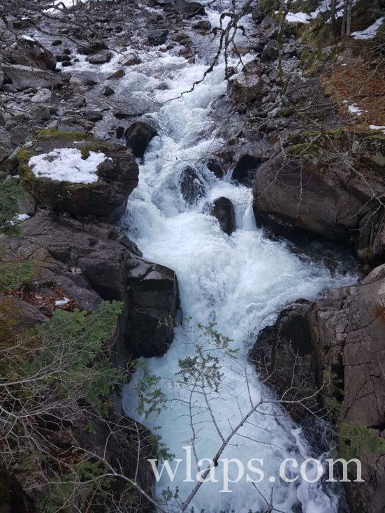Sentier des cascades jusqu'au Pont d'Espagne