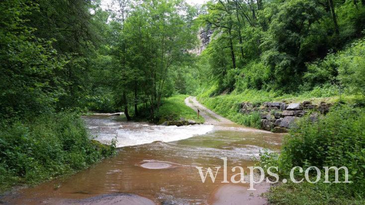 cours d'eau du Trou de Bozouls