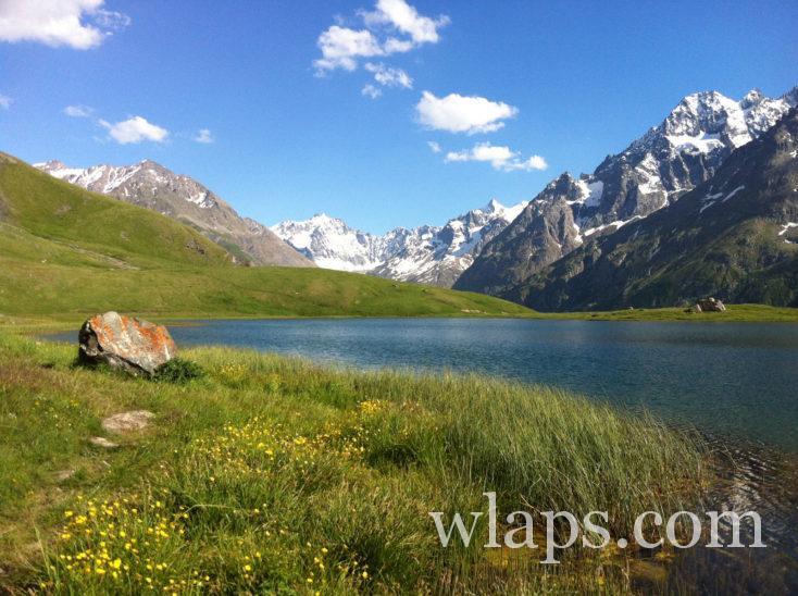 lac des alpes en france