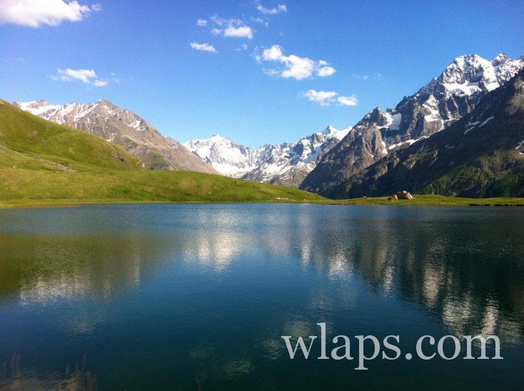 Paysage des Alpes