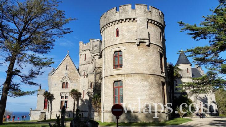 Château Observatoire Abbadia à Hendaye