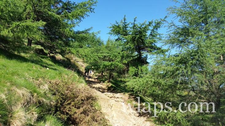 sentier de randonnée des Trois Couronnes