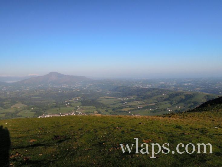 vue sur le pays basque