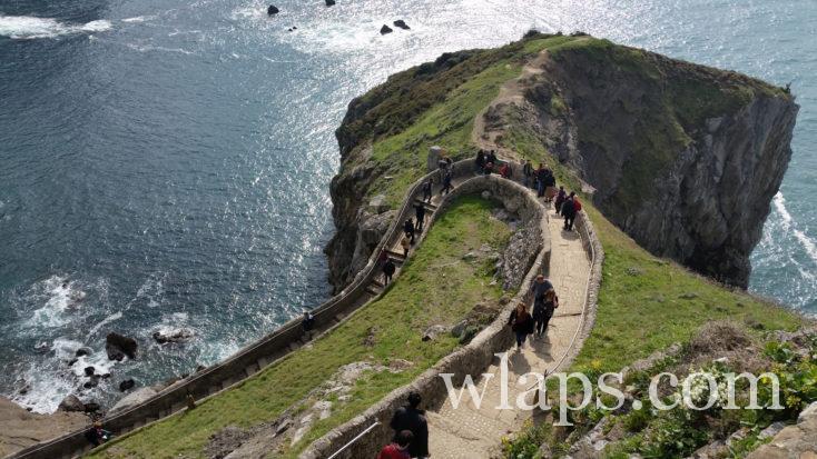 descente de l'Ermitage de San Juan de Gaztelugatxe