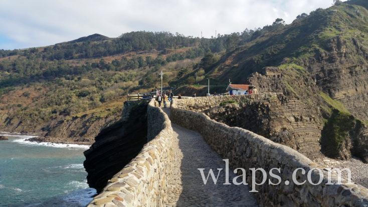 pont de l'Ermitage de San Juan de Gaztelugatxe
