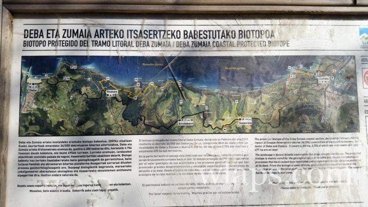 randonnée dans le Géopark de la Côte Basque