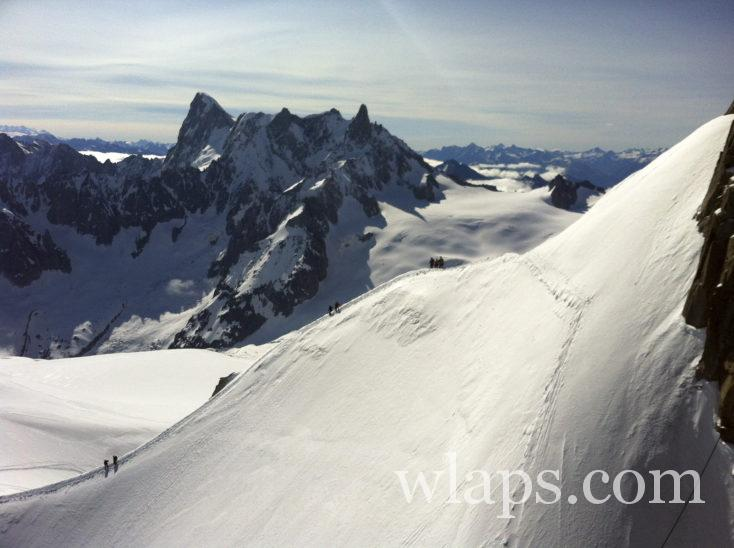 alpinisme au mont blanc
