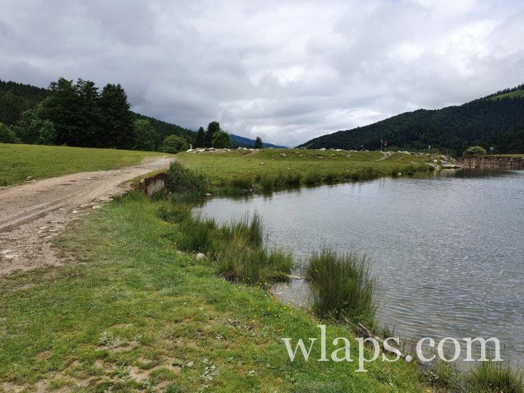 tour du lac de payolle dans les Pyrénées