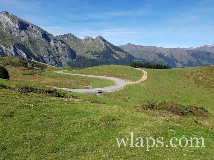 La route qui va au Col du Soulor