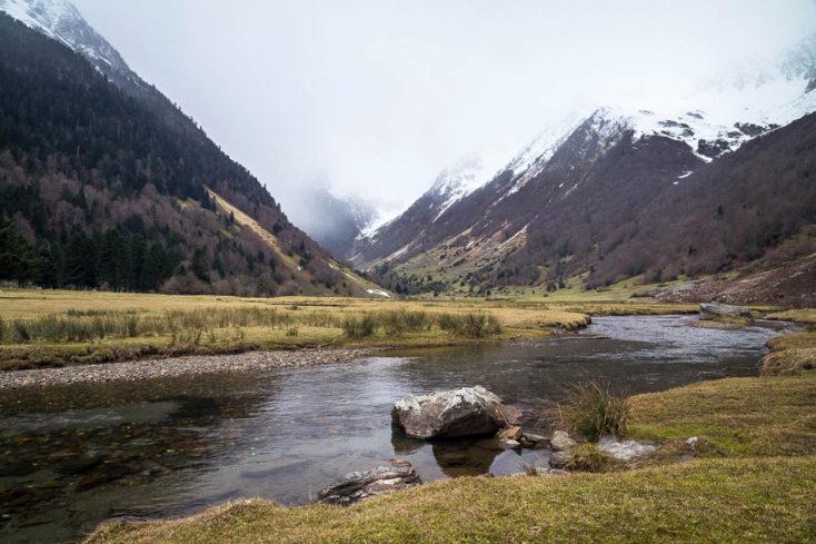 rivière au lac d'estaing
