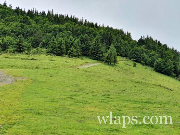 piste de randonnée au Col d'Aspin