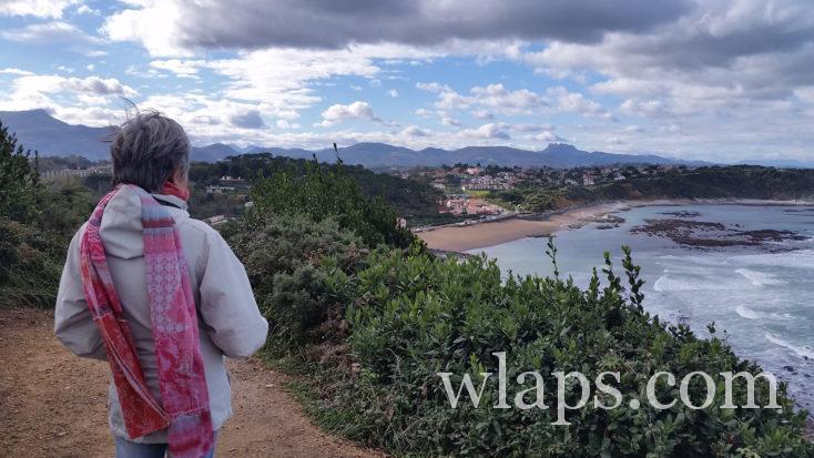 vue depuis le Sentier du Littoral basque