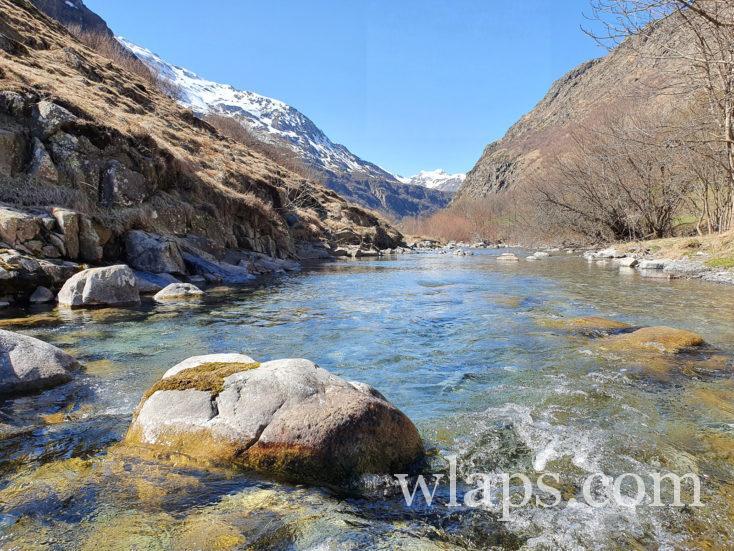 paysage sur une randonnée pour femme enceinte dans les Pyrénées