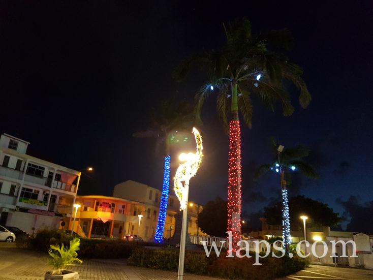 décorations de Noel en Guadeloupe en décembre