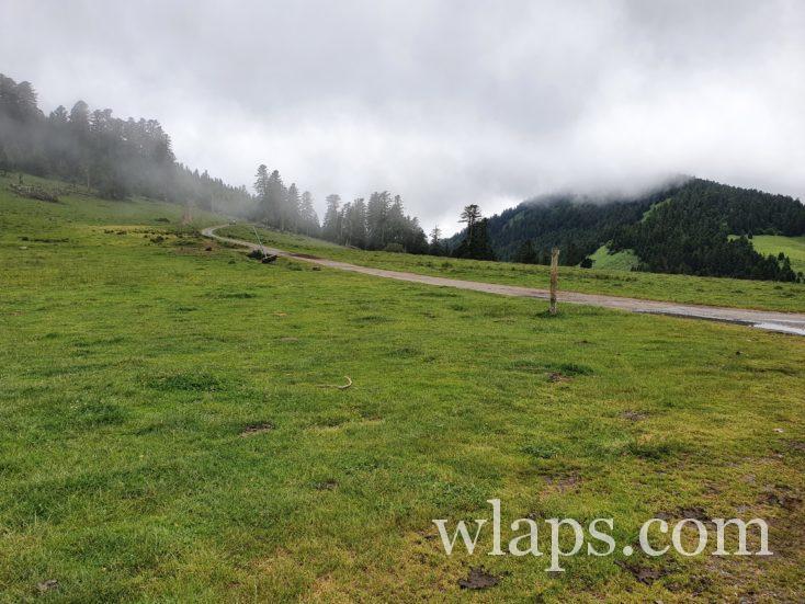 piste au Col de Beyrède