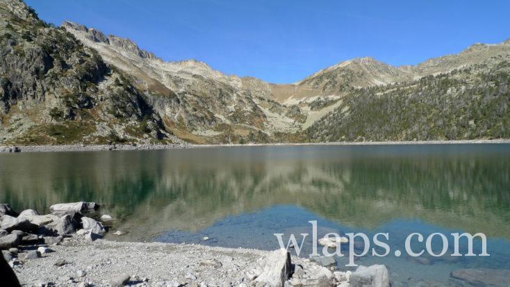 randonnée autour du Lac d'Aumar