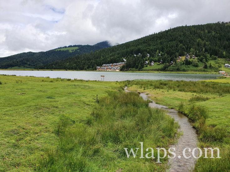 piste du lac de Payolle