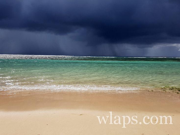 averse en grande terre sur la Guadeloupe