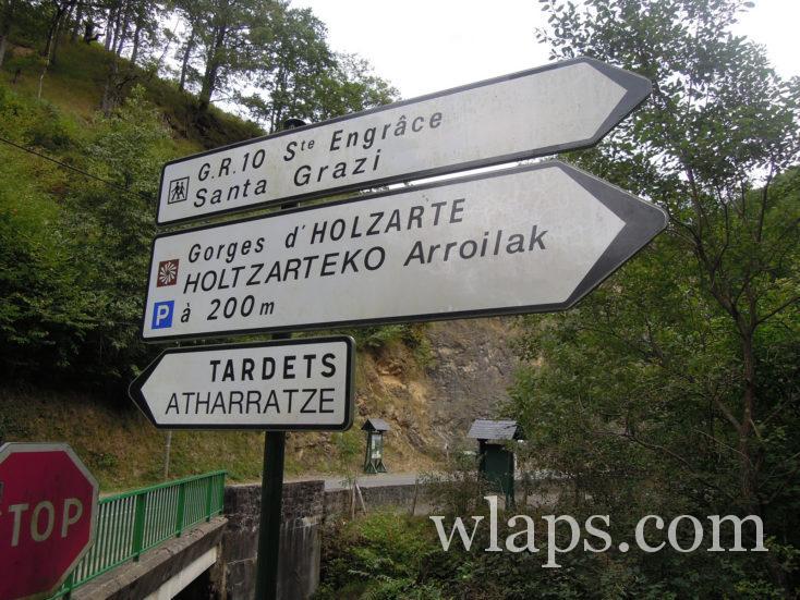 Direction les gorges d'Holzarté