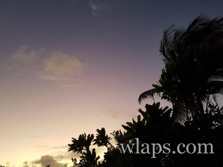 une belle journée en décembre au Moule en Guadeloupe