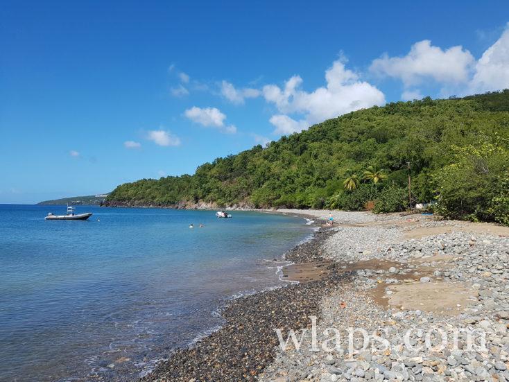plage Caraïbes en Guadeloupe