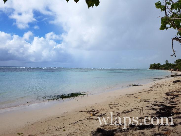 météo maussade en Guadeloupe ce jour de décembre