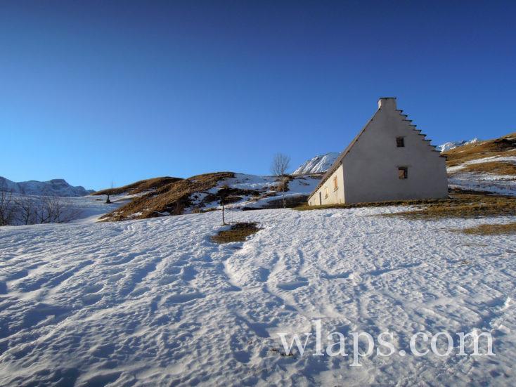 balade en hiver au plateau de Saugué