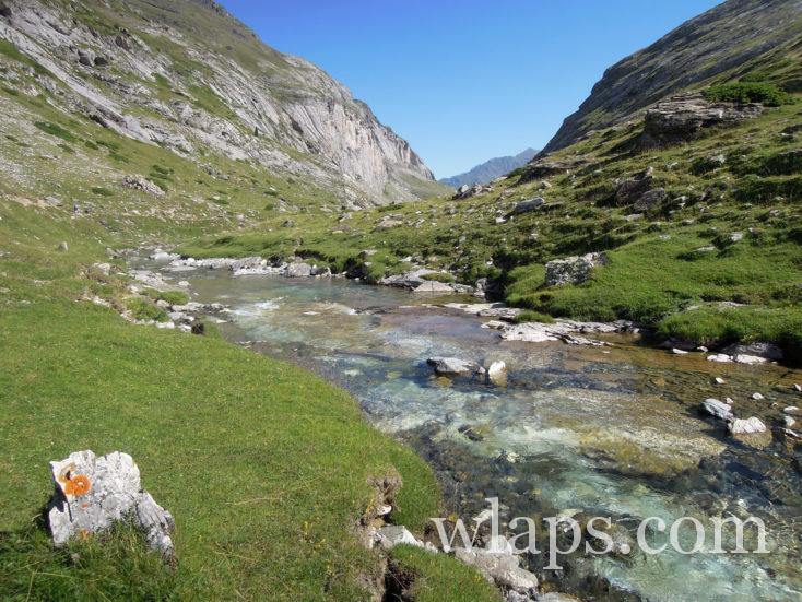 ruisseau au Cirque d'Estaubé