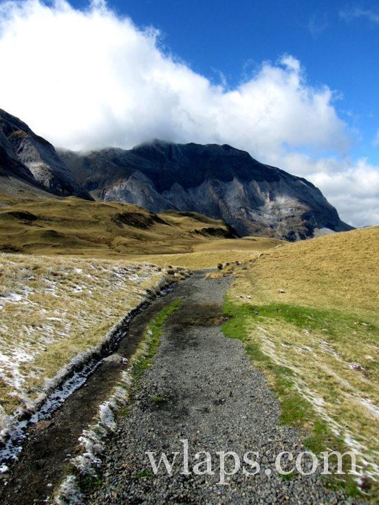 chemin de randonnée au Cirque de Troumouse
