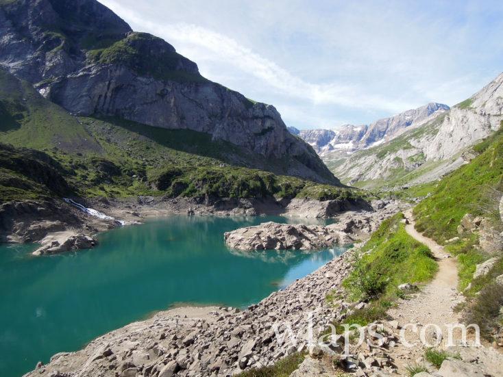 chemin de randonnée au Cirque d'Estaubé