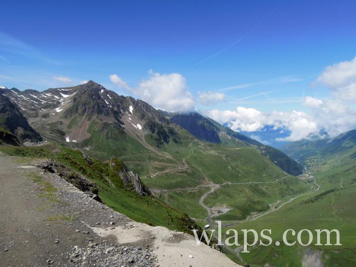 large piste qui va ua Le Lac d'Oncet