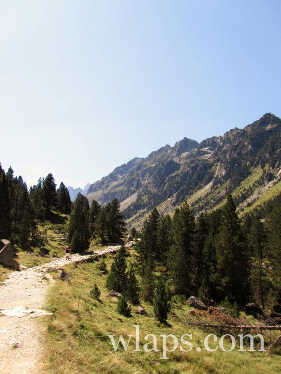 chemin de randonnée pour aller au Lac de Gaube