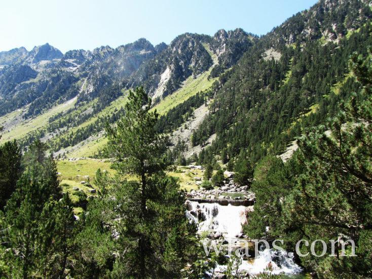 cascades au Lac de Gaube
