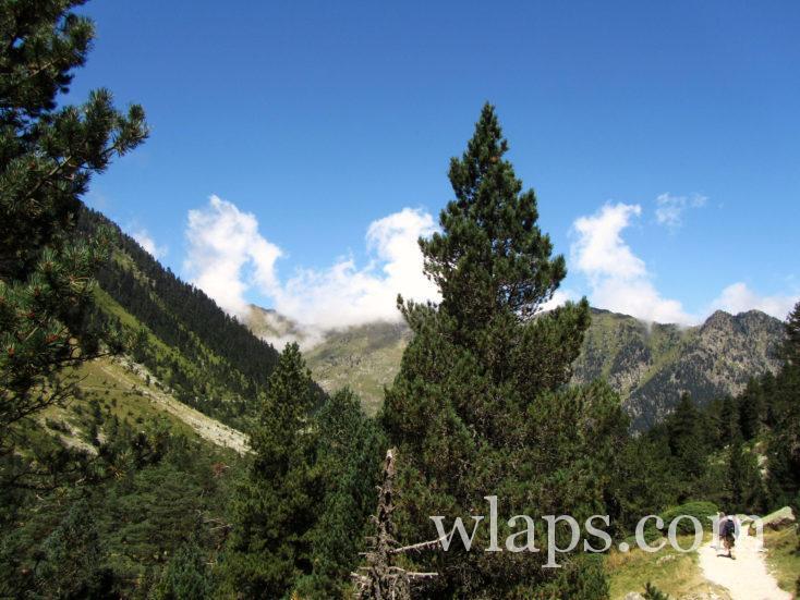 chemin de randonnée du Lac de Gaube