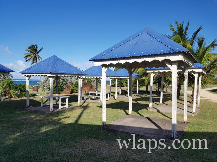 carbets près du Moule en Guadeloupe