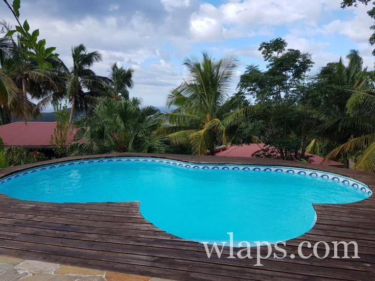 notre hébergement en Basse-Terre en Guadeloupe