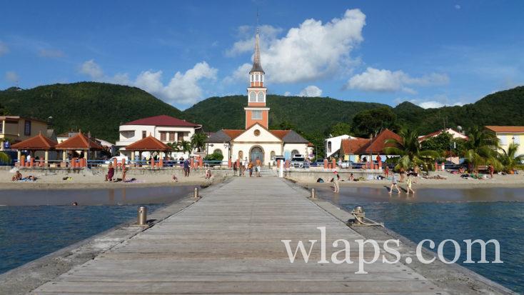 église des Anses d'Arlet en Martinique