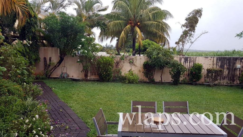 Il pleut à l'île Maurice