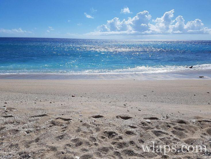 une plage près de la plage de la souris chaude à la réunion