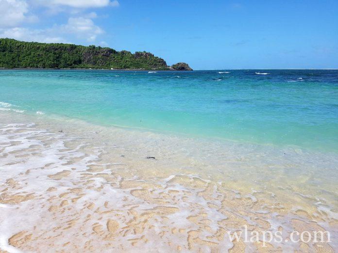 plage naturiste à l'ile maurice